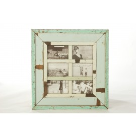 Overbeck and Friends Bilderrahmen 6 Bilder Holz antik 55 x 52 cm